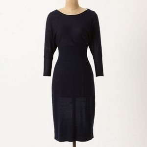 Anthro Sparrow Jolee Fine Knit Sweater Dress